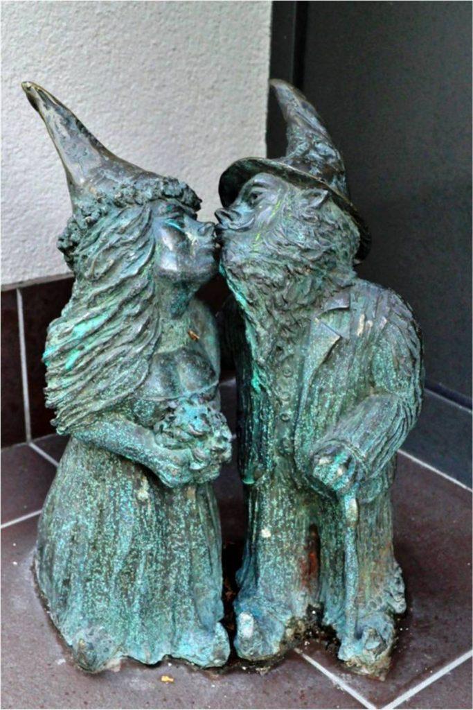 Wrocławskie Krasnale - Krasnale Nowożeńcy